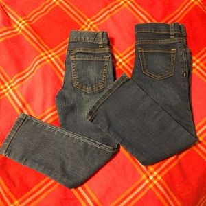 2 pairs of Childrens Place Jeans - size 5